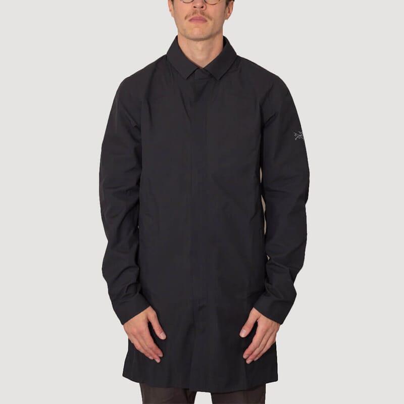<Keppel Trench Coat - Black