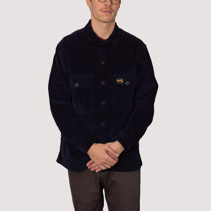 <Cord CPO Shirt - Navy