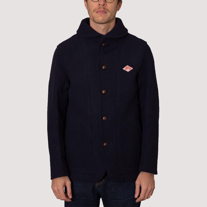 <Wool Mossa Jacket - Navy