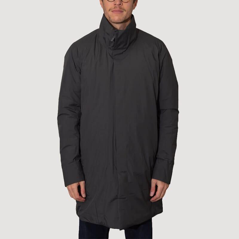 <Euler Insulated Coat - Soot