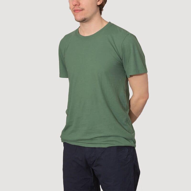 <Basic 30/70 Tee - Spruce Green