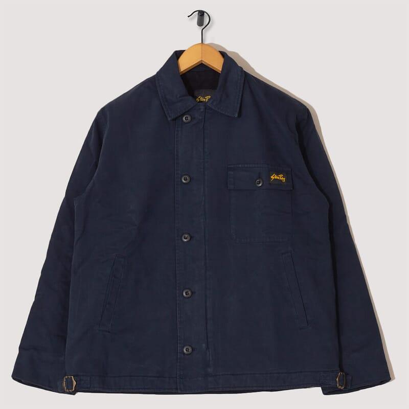 A2 Deck Jacket - Navy Twill