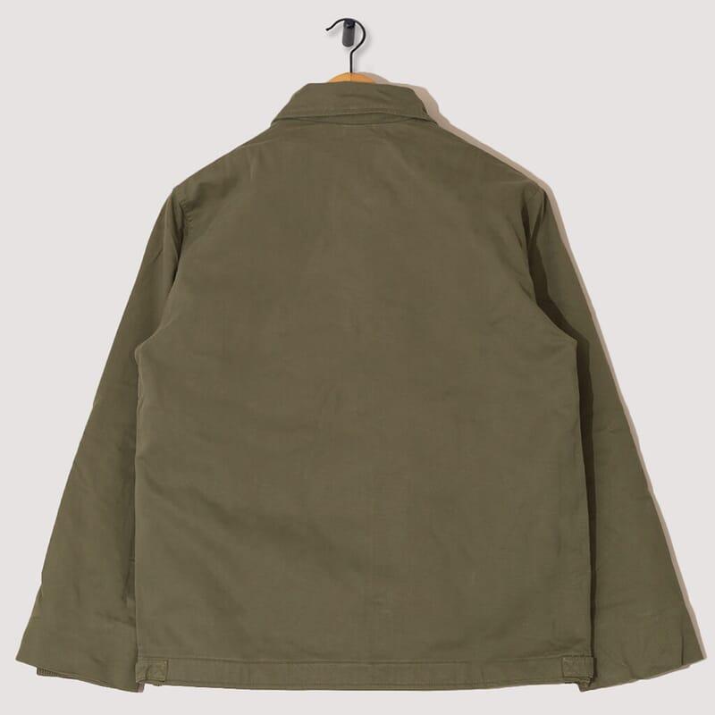 <A2 Deck Jacket - Olive Twill