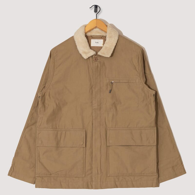 Alber Jacket - Tan