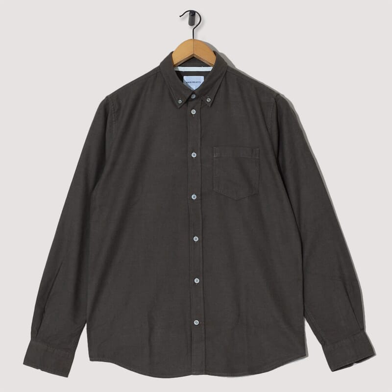Anton Brushed Flannel - Dark Green