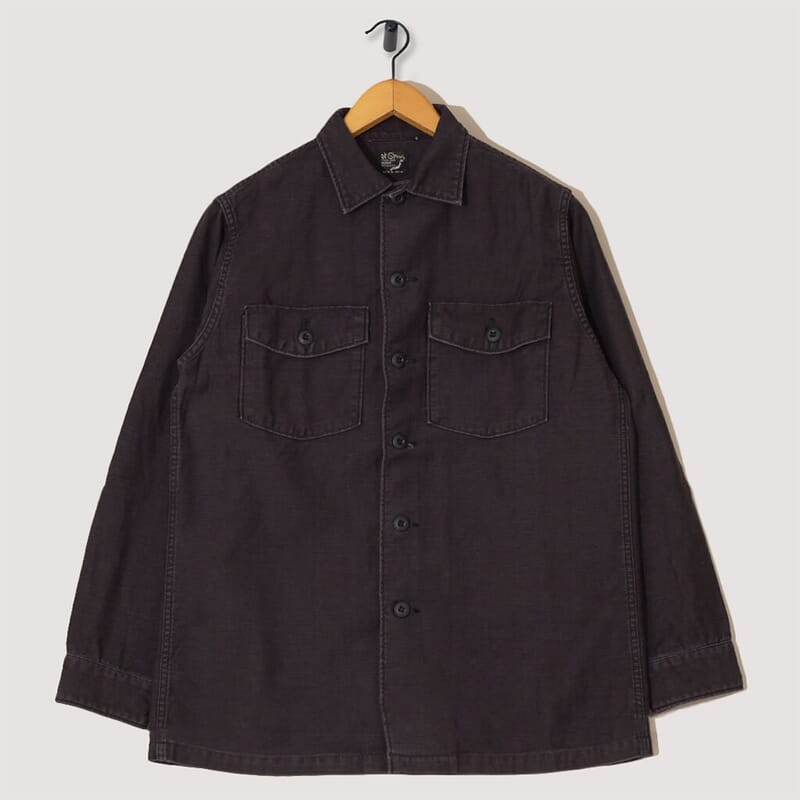 Army Shirt - Black Stone