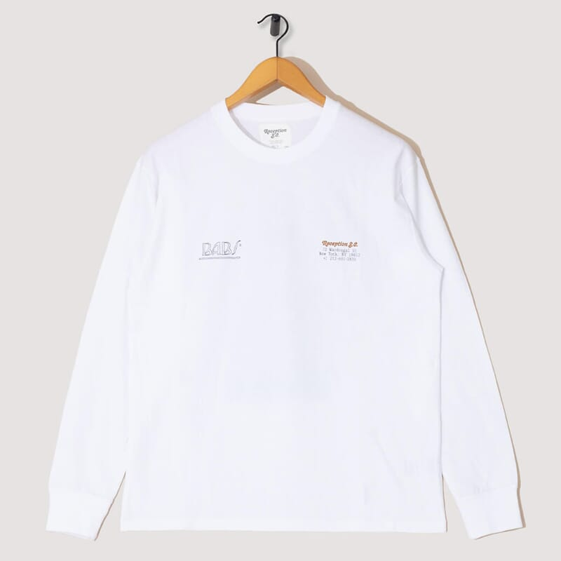 Babs L/S Tee - White