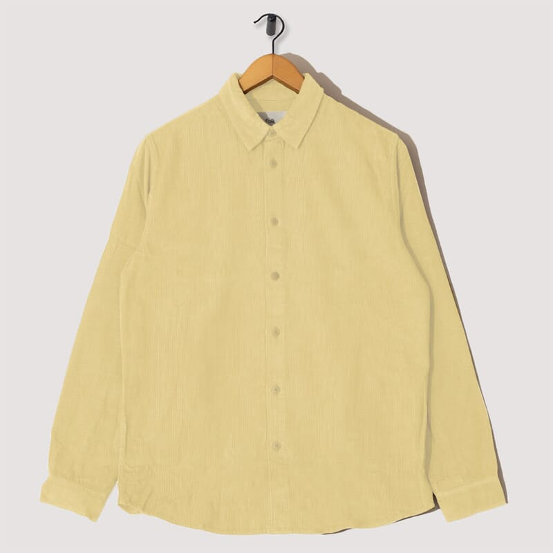 Baby Cord Shirt - Light Gold