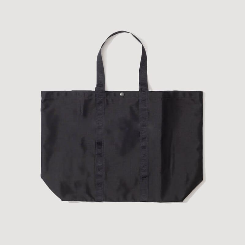 <Shopping Tote - Black
