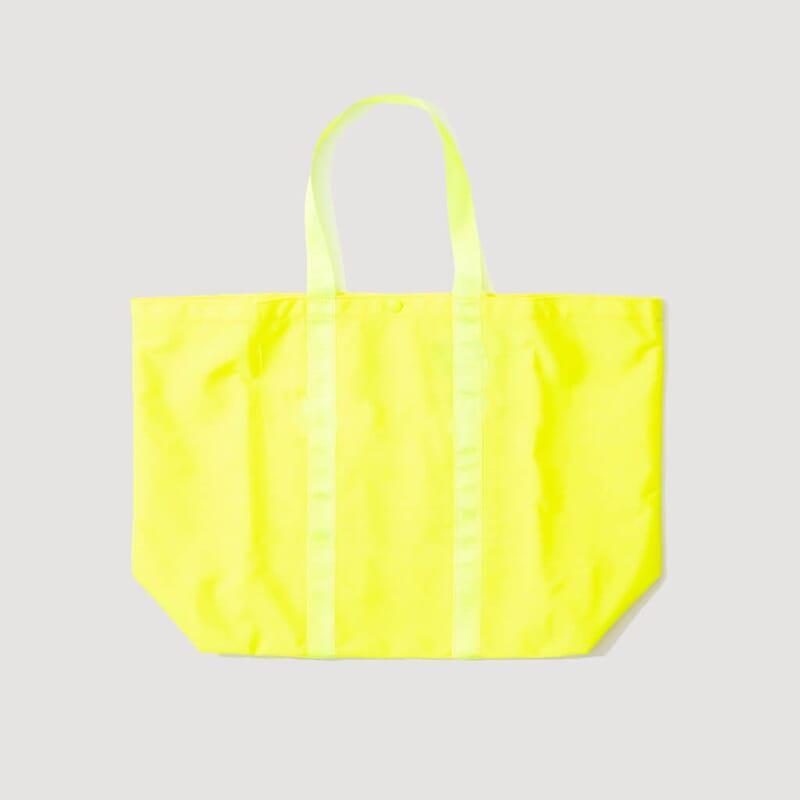 <Shopping Tote - Yellow