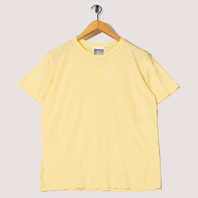 Basic 30/70 Tee - Pale Yellow