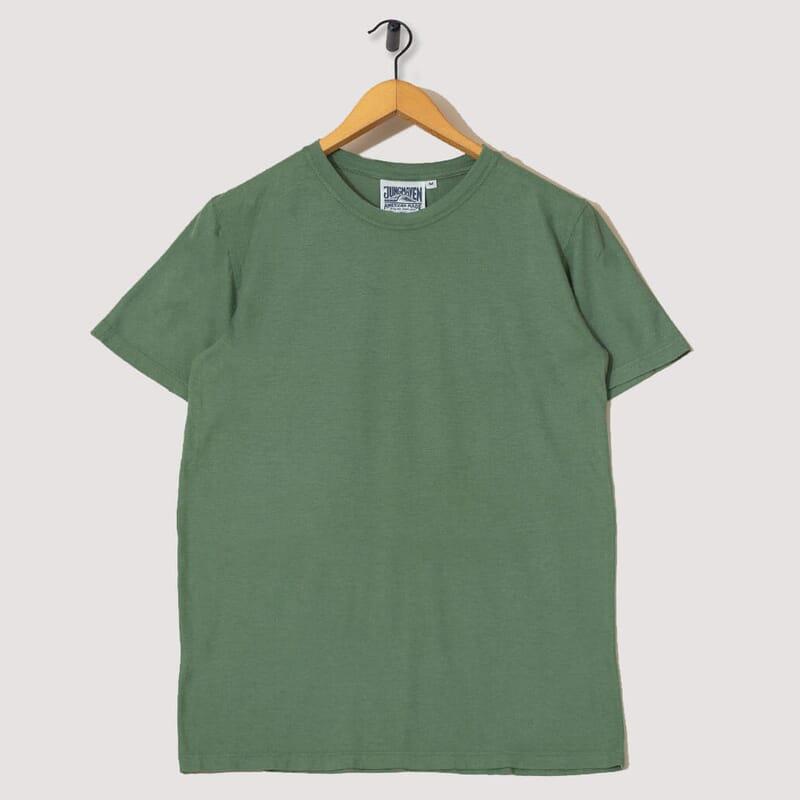 Basic 30/70 Tee - Spruce Green