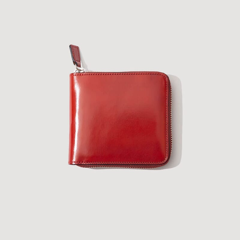 Big Zip Wallet - Coral Red (8)
