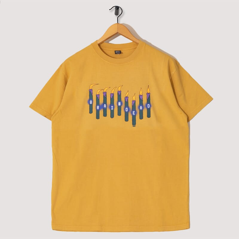 Candles S/S Tee - Yellow