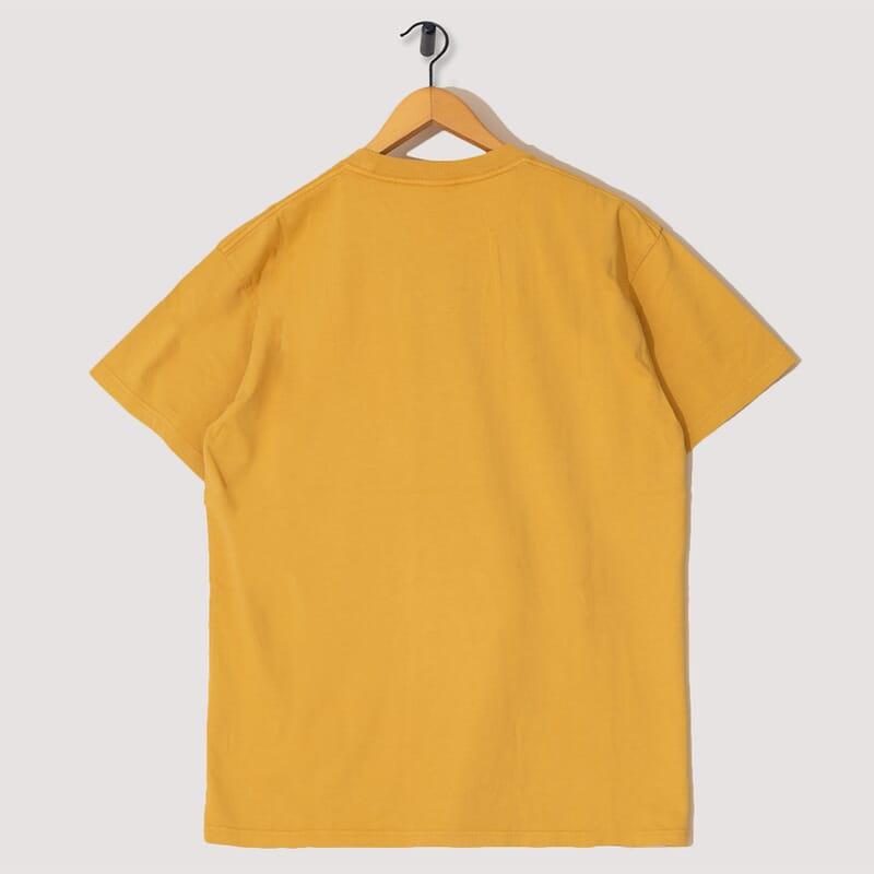 <Candles S/S Tee - Yellow