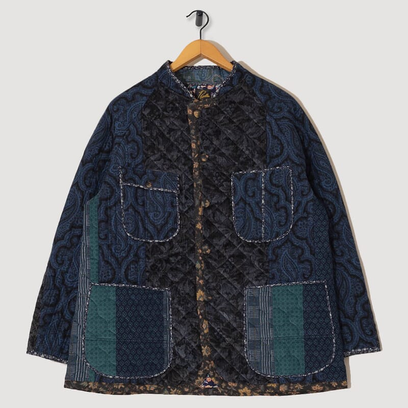 Chore Coat Switched Quilt - Navy/Charcoal
