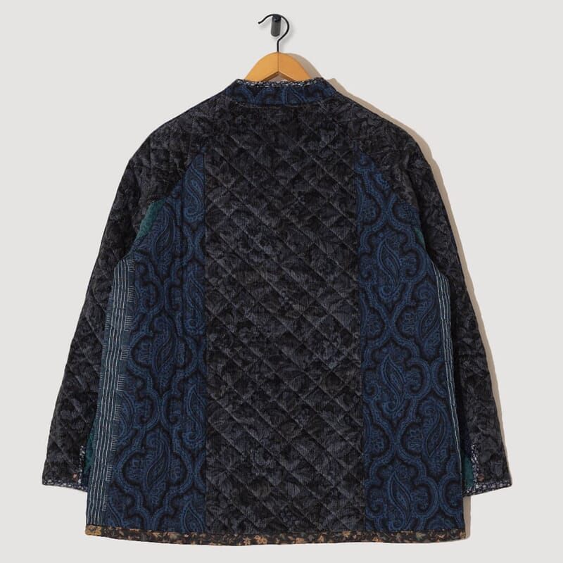 <Chore Coat Switched Quilt - Navy/Charcoal
