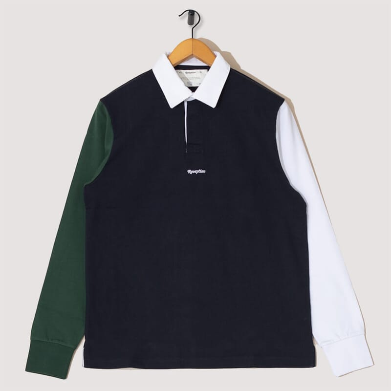 Color Block Rugby Polo - Multi