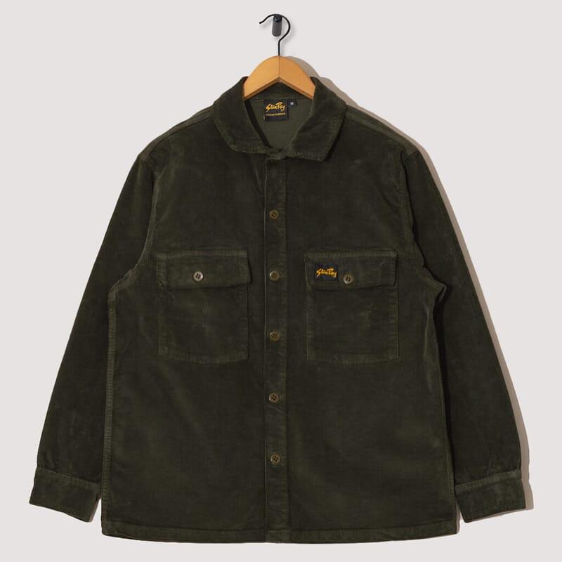 Cord CPO Shirt - Olive