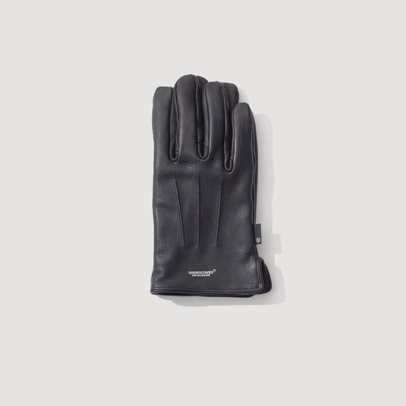 Cowhide Gloves - Black