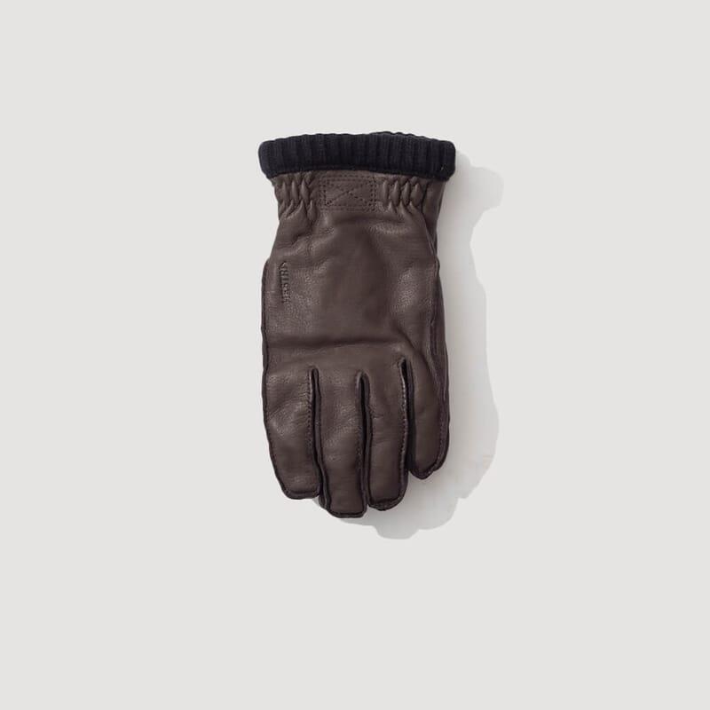 Deerskin Primaloft Glove - Dark Brown