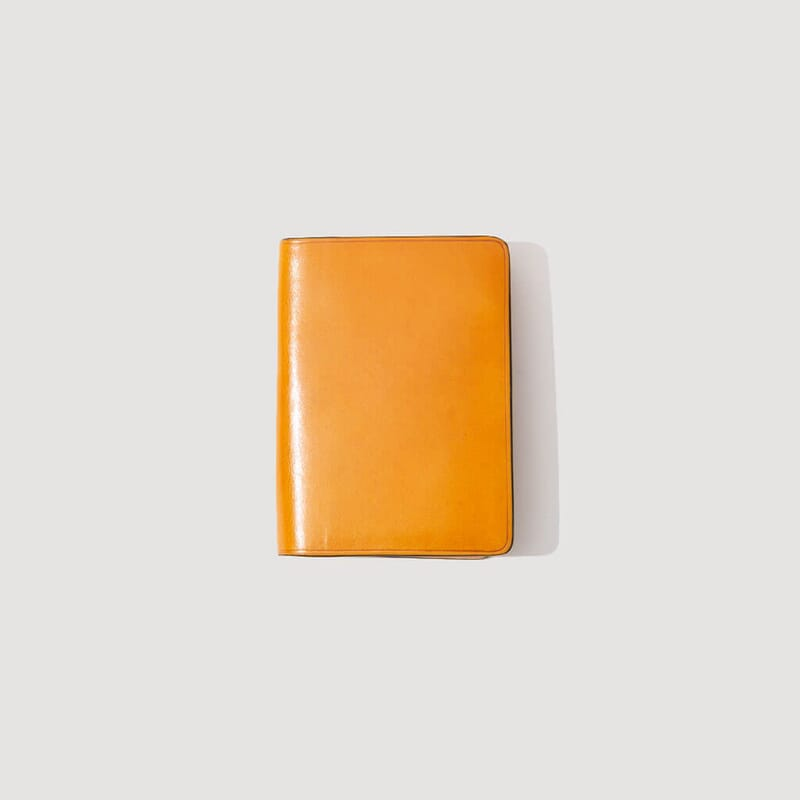 Document Holder With ID Window - Biscuit