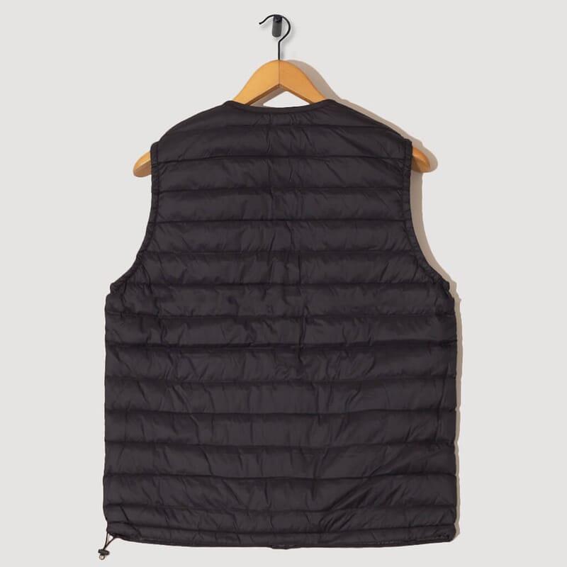 <Down Vest - Black