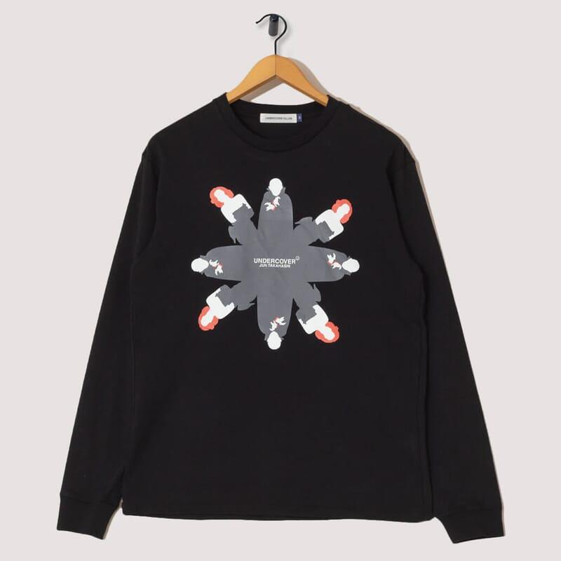 Dracula L/S T-Shirt - Black