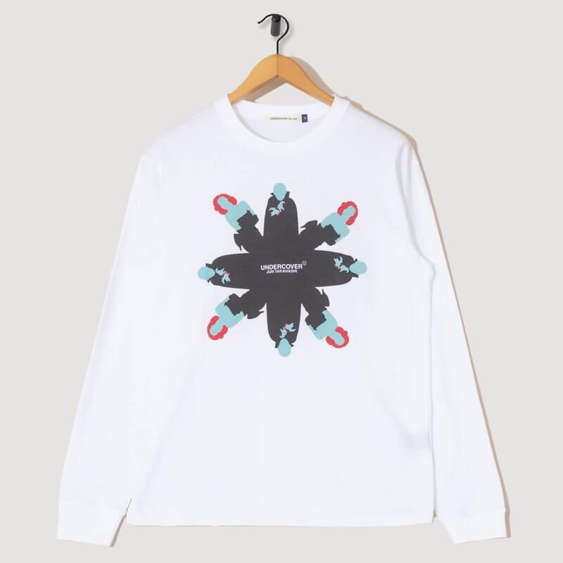 Dracula L/S T-Shirt - White