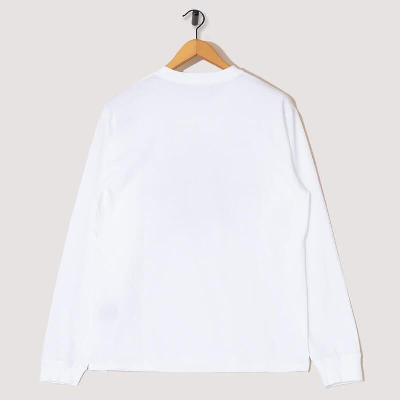 <Dracula L/S T-Shirt - White