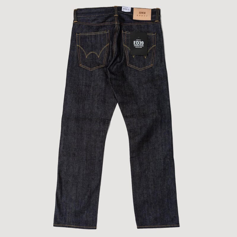<ED-39 Red Listed Selvedge Unwashed - Regular Loose