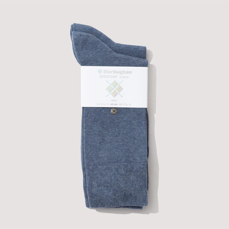 Everyday Mix Socks - Blue Melange (816)