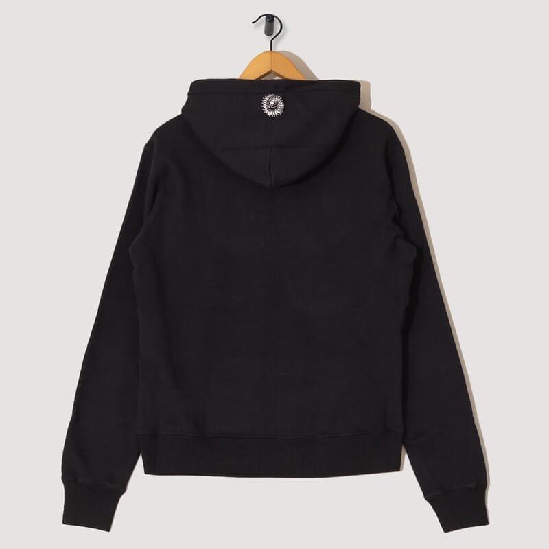 <Fallen Man Hooded Sweatshirt - Black