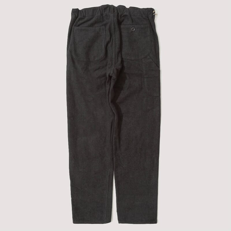 <French Work Pant - Heavy Brushed Cotton Grey