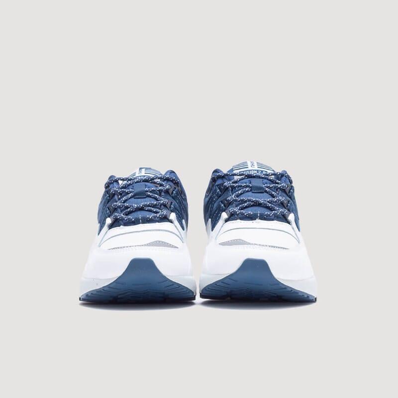 <Fusion 2.0 OG - White/Blue Wing Teal