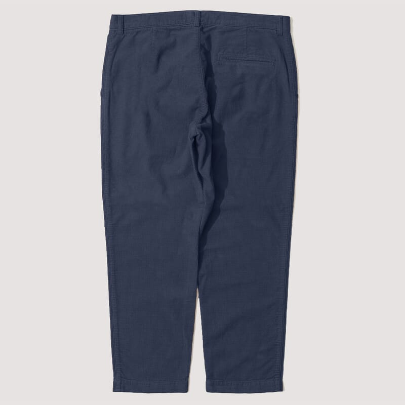 <Hand Me Down Trouser - Navy