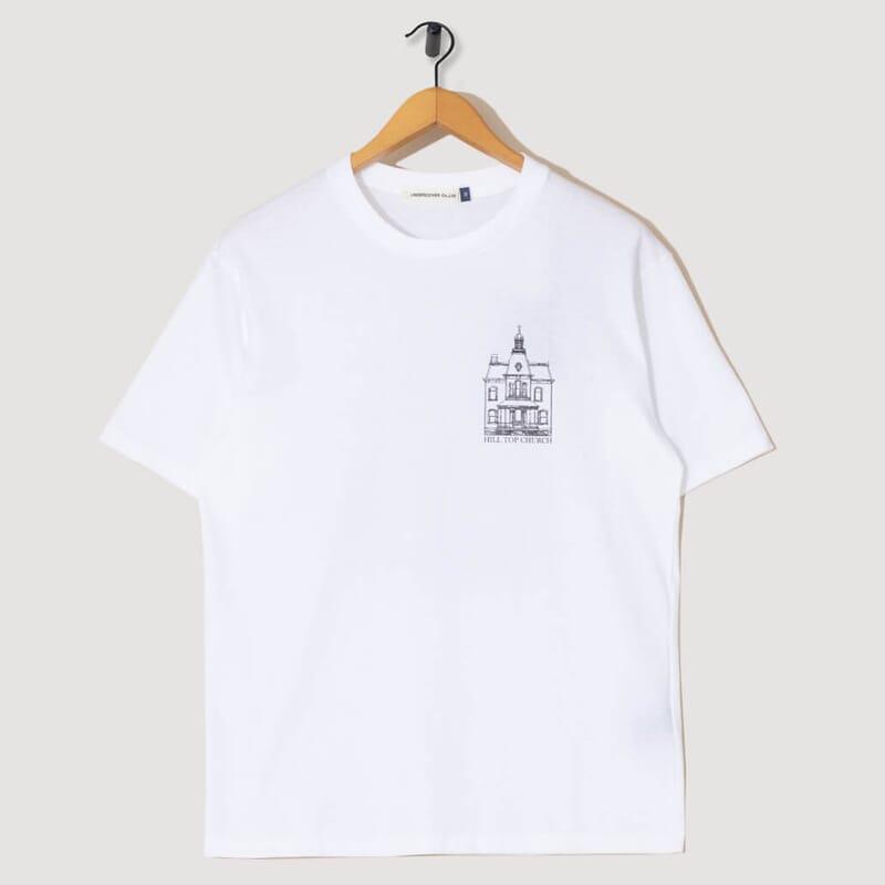 Hill Top Church T-Shirt - White