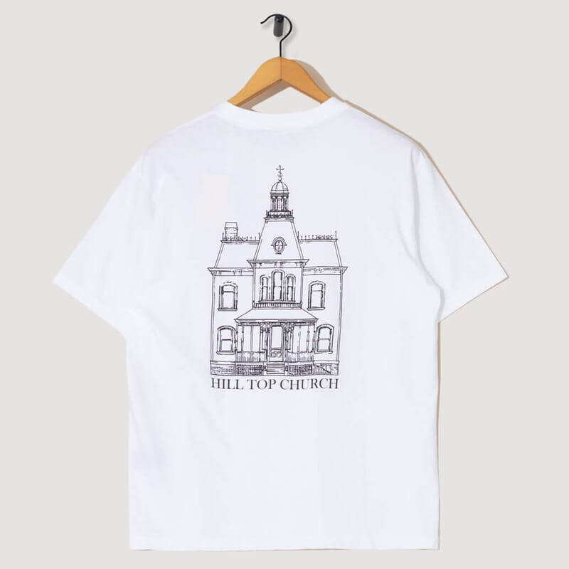 <Hill Top Church T-Shirt - White