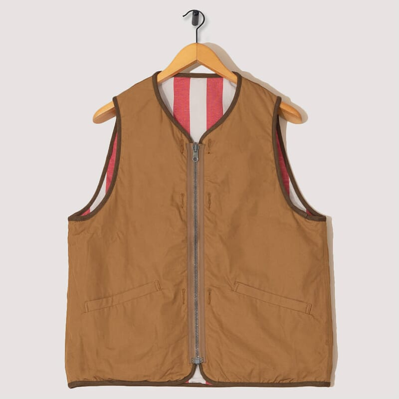 Iris Vest Liner - Light Brown
