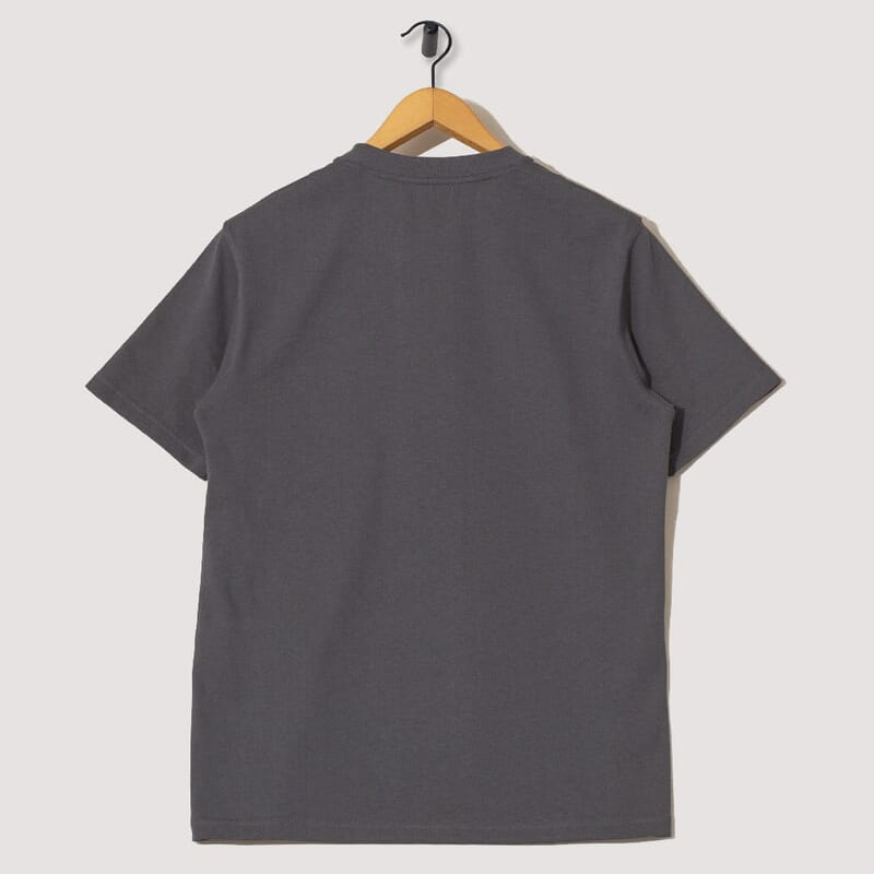<Johannes Pocket S/S Tee - Slate Grey