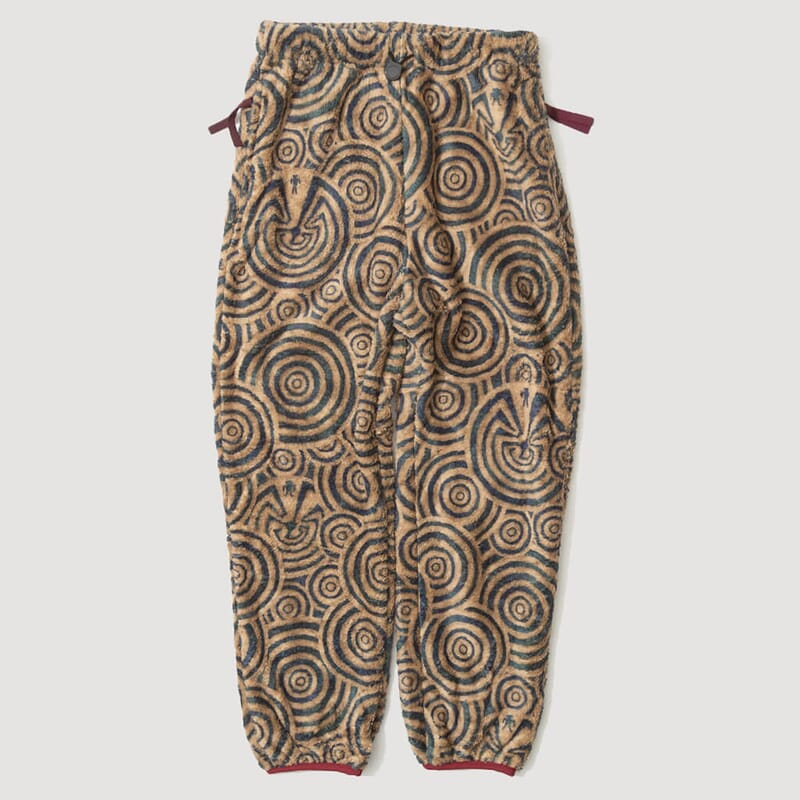 Maze Fleece Pants - Beige