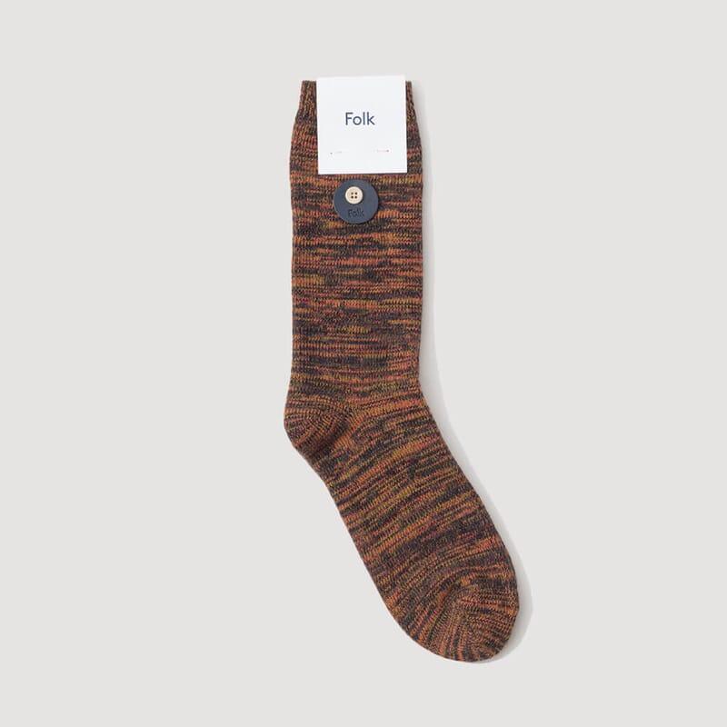 <Melange Socks - October Melange
