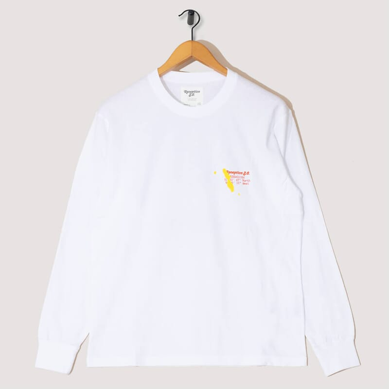 Modagor L/S Tee - White