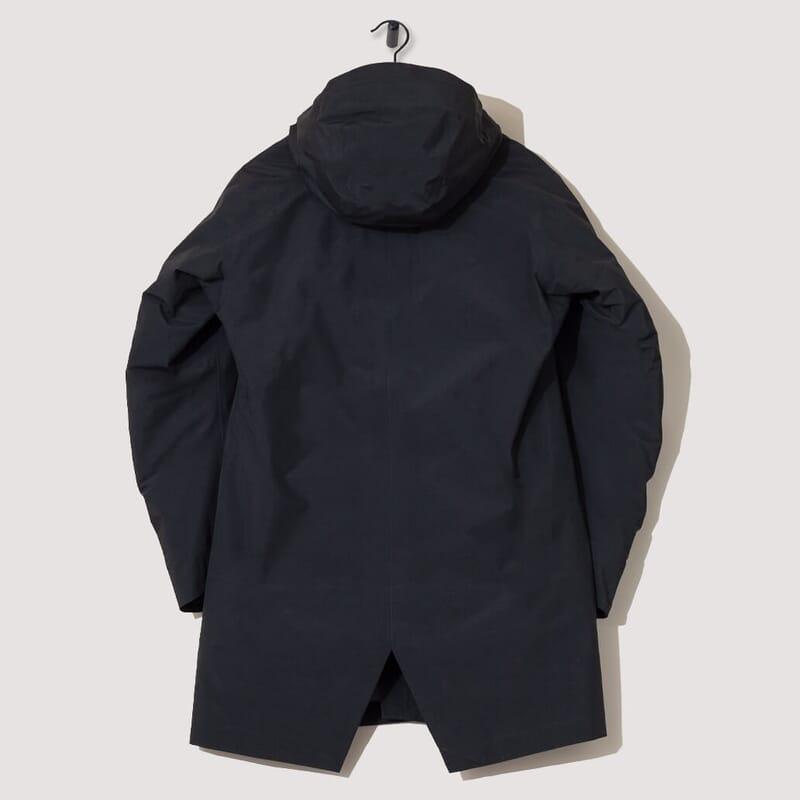 <Monitor Down Coat - Black