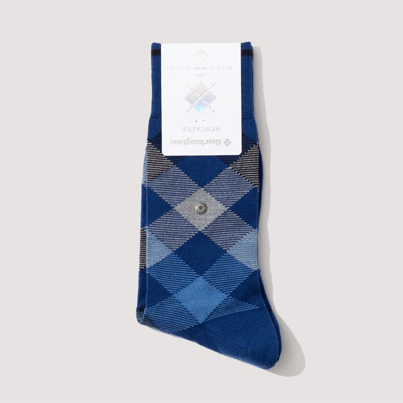 Newcastle Socks - Blue/Sky Blue/Grey Marl (829)