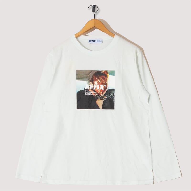 Radio Long Sleeve T-Shirt - Light Mint
