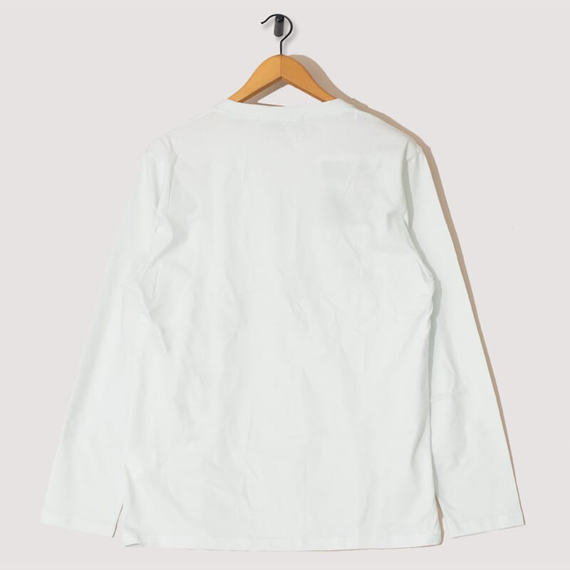 <Radio Long Sleeve T-Shirt - Light Mint