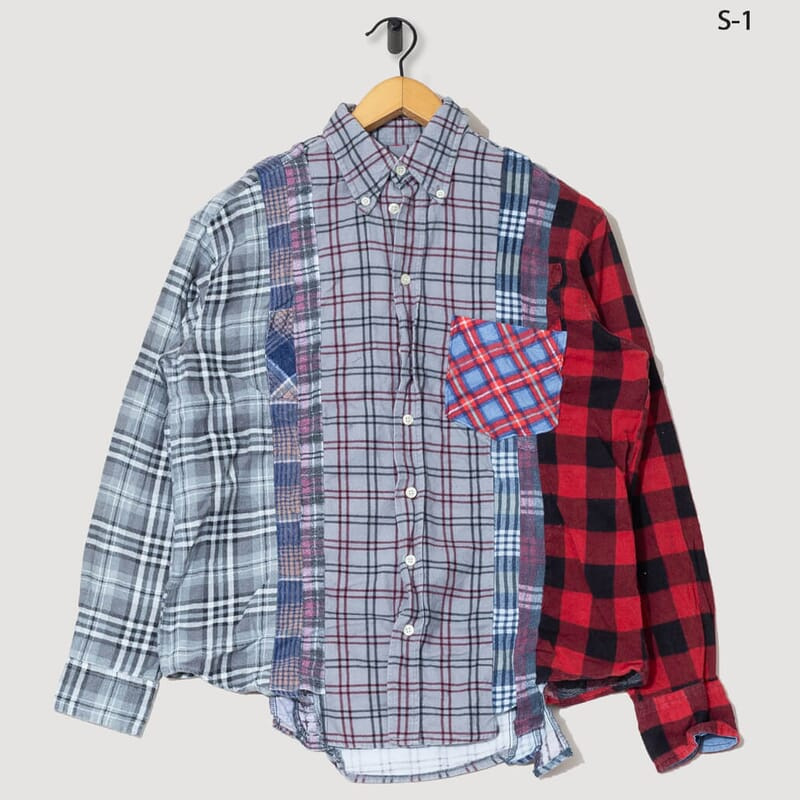 Rebuild By Needles Flannel Shirt - 7 Cuts