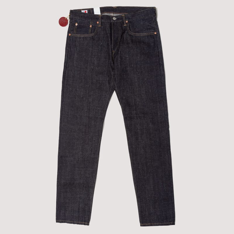 Reg Tapered Nihon Menpu Open Weave Jeans - Blue Raw State