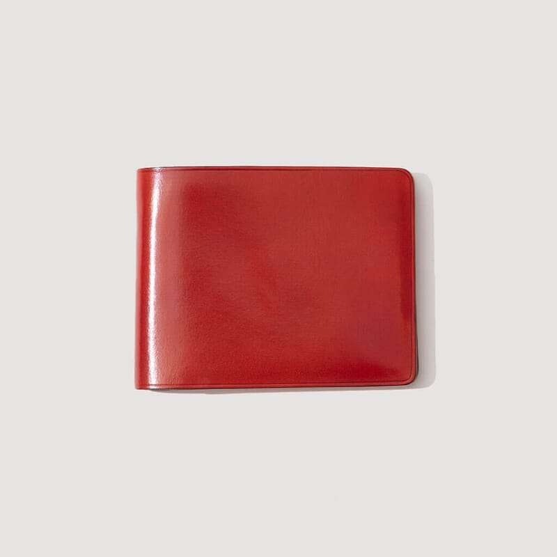 Regular Bi-Fold Wallet - Coral Red (8)
